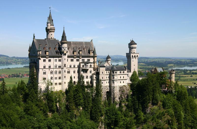 Füssen (Bavière) :: Château de Neuschwanstein